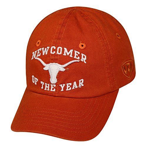 Texas Longhorns Official NCAA Adjustable Infant Newcomer Hat Cap by Top of the World 740492