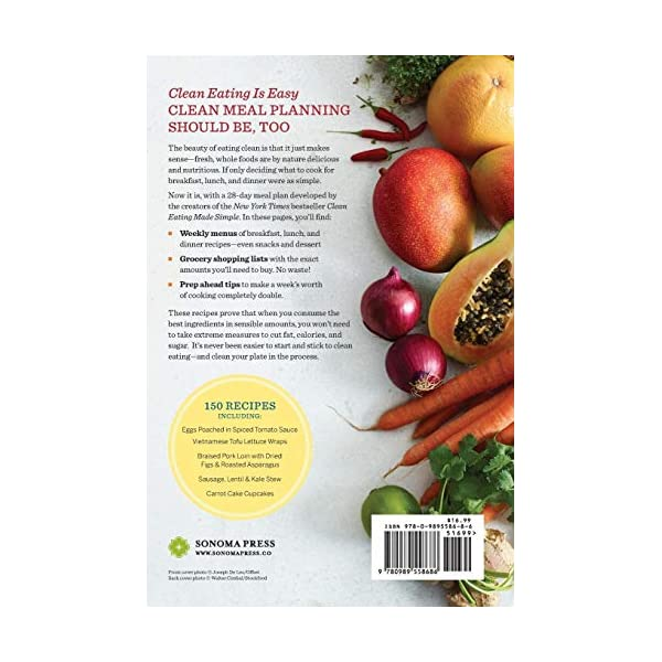 28 Days of Clean Eating: The Healthy Way to Kick Dieting Forever 51RWIHuoKjL