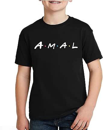 kharbashat Amal T-Shirt for Boys, Size 36 EU