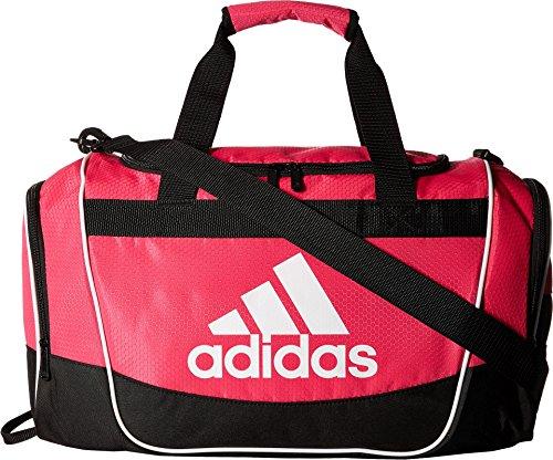adidas Defender II Small Duffel Bag, Small, Shock Pink