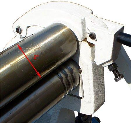 36'' x 16 Gauge Slip Roll Roller Sheet Metal Brass Copper Mild Steel by Generic (Image #5)