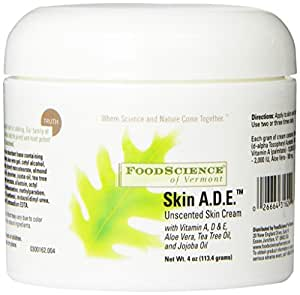 Food Science Of Vermont Skin A.D.E.Cream, 4 Ounce