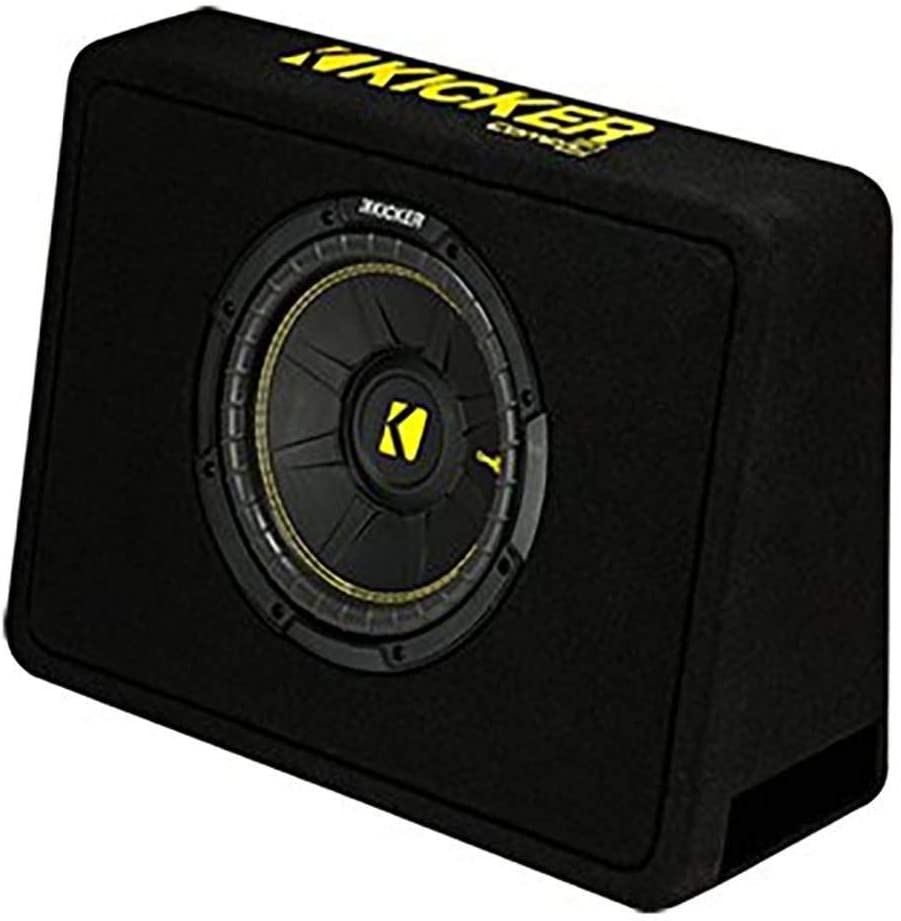 Kicker 44TCWC104 Vented Thin-Profile Subwoofer Enclosure