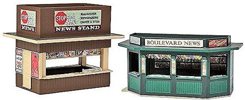 costo real Walthers Cornerstone Walthers - Newsstands - Set of 2 2 2 - Kit - HO  venta al por mayor barato