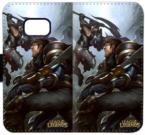 Darius vs Garen Battle Art League of Legends] Funda de cuero ...