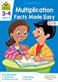 School Zone - Multiplication Facts Made Easy Workbook - Ages 8 to 10, 3rd Grade, 4th Grade, Multiplication Tables, Factors, Common Core, and More (School Zone I Know It! Workbook Series)