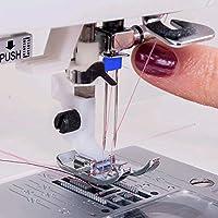 FOGAWA - Agujas dobles para máquina de coser (12 unidades, doble ...