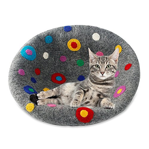 Felted Cat Bed - 4
