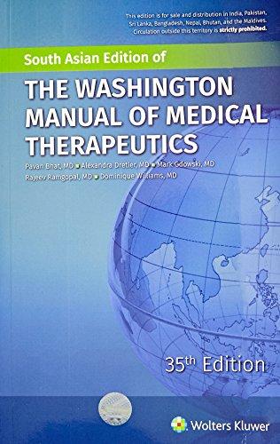 The Washington Manual Of Medical Therapeutics 35Ed (Pb 2016)