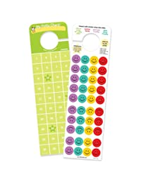 Potty Time Stickers and Chart, hooks onto door knob! BOBEBE Online Baby Store From New York to Miami and Los Angeles