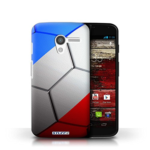 Kobalt® Imprimé Etui / Coque pour Motorola MOTO X / France/Français conception / Série Nations de Football