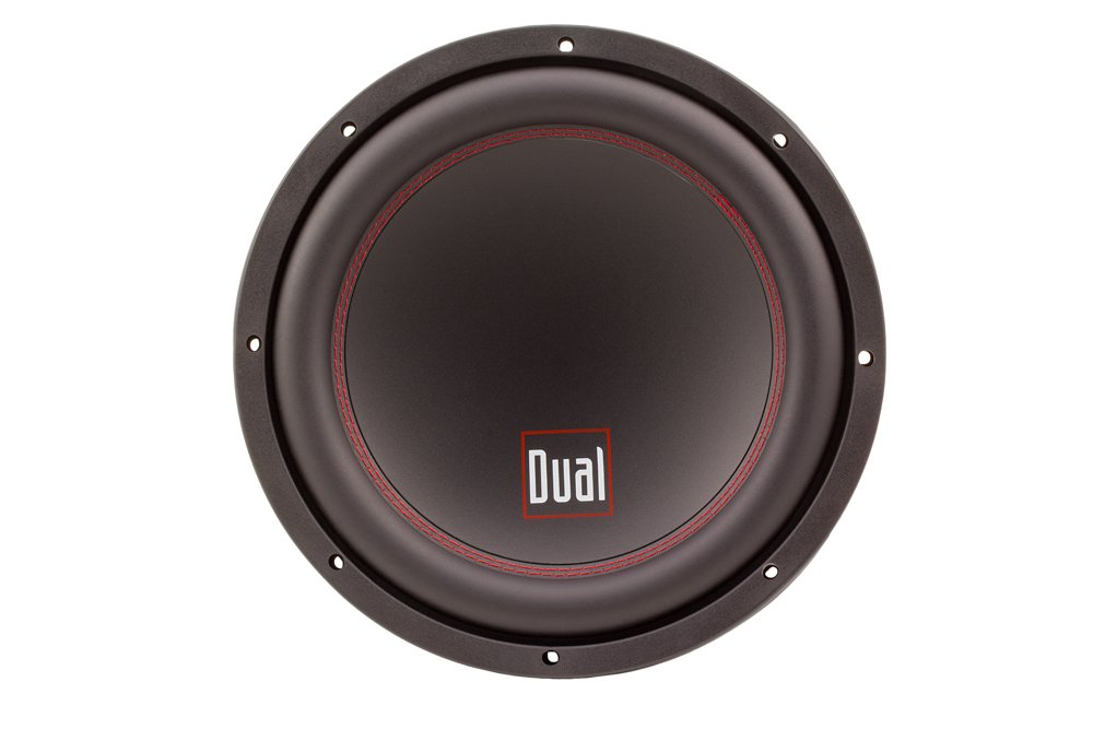 Dual Electronics DSD122D 12-inch High Performance Subwoofer with 4-Layer 2-inch Copper Voice Coil and 800 Watts of Peak Power