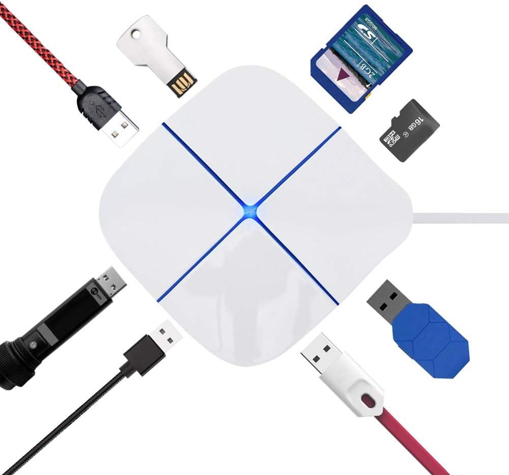M2 card reader OTG USB HUB External USB 2.0 OTG card reader Mini Reader Multi in 1 OTG adapter SD TF USB 2.0 port MS Value-5-Star SD H