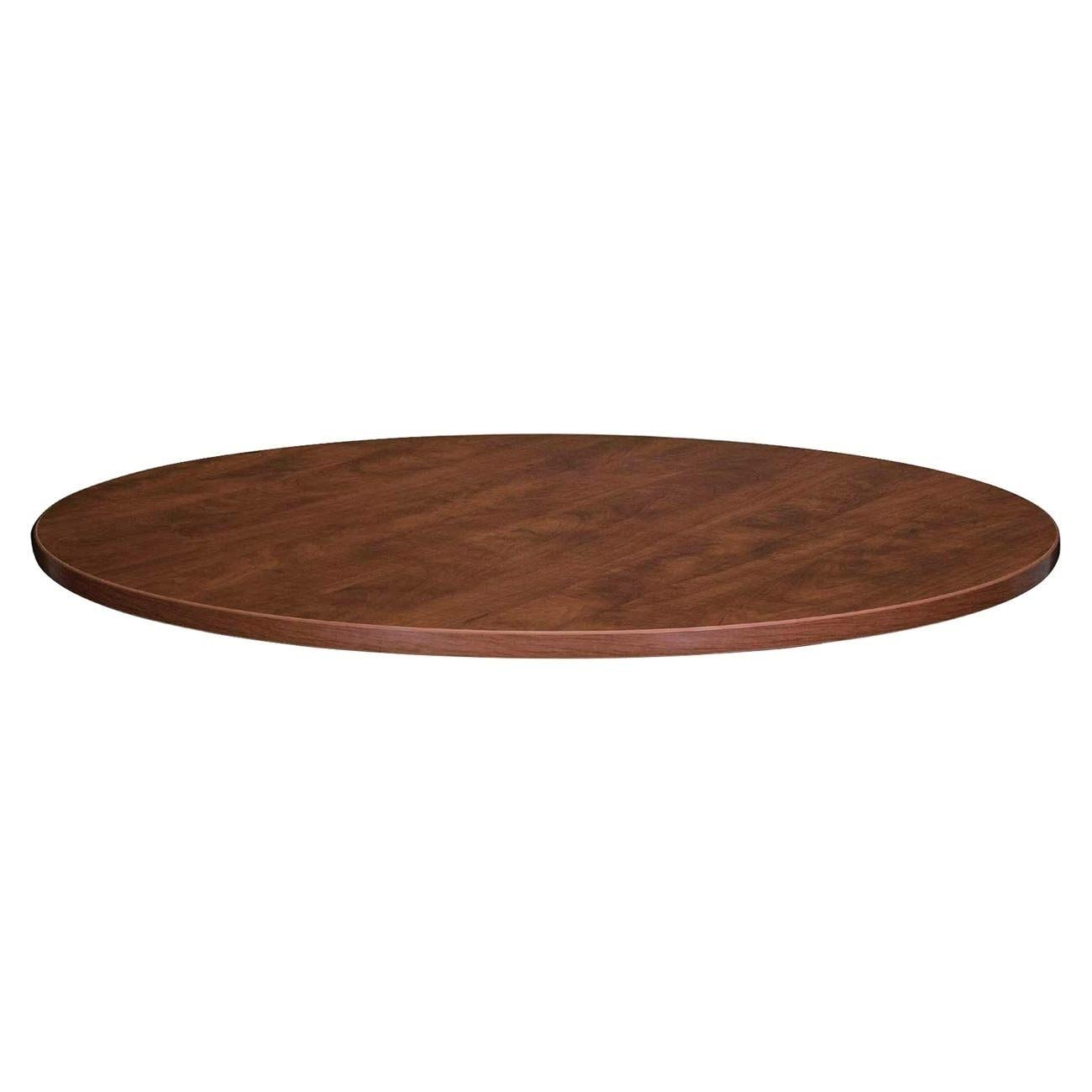 Lorell Round Tabletops, 48-Inch Diameter, Cherry