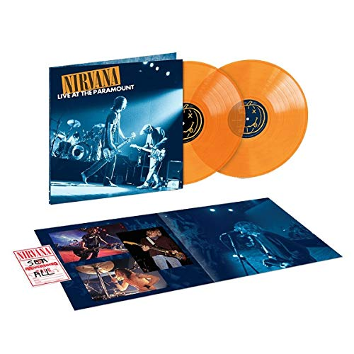 Live At The Paramount - Exclusive Limited Edition Orange 2xLP Vinyl (#/3500)