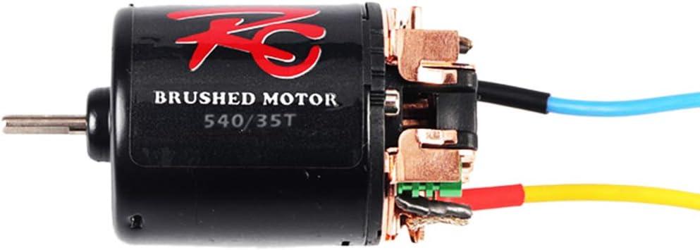 Shumo Motor de Cepillo 540 35T para 1/10 de F-Road Escalar ...