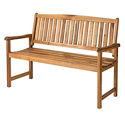 Brilliant Alexander Rose 4 Ft Acacia Wood Relax Garden Bench Amazon Pabps2019 Chair Design Images Pabps2019Com
