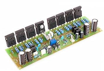 Tarjeta Amplificador 400 W RMS MOSFET montado y collaudato Kit Profesional: Amazon.es: Electrónica