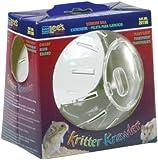Lee's Kritter Krawler Mini Exercise Ball, 5-Inch, Clear