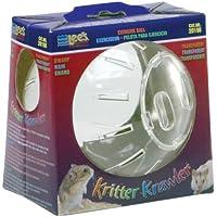 """Lee's Kritter Krawler Mini Exercise Ball, 5"""", Clear"""
