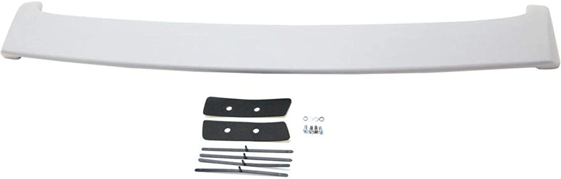 Chevy 06-13 Impala Lip Spoiler Rear Trunk Tail Wing Factory Style Primer Black