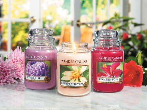 small Yankee Candle vela perfumada Blossom Champaca