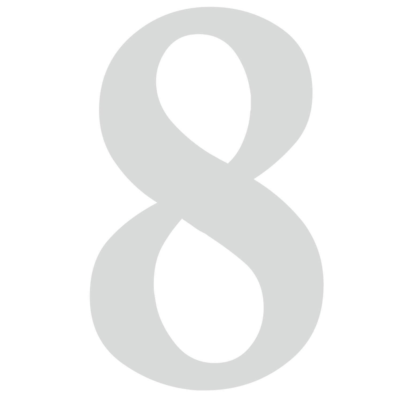 Zahlen-Aufkleber Nr Briefkasten 1 in schwarz I H/öhe 10 cm I selbstklebende Haus-Nummer Ziffer zum Aufkleben f/ür Au/ßen T/ür I wetterfest I kfz/_471/_1