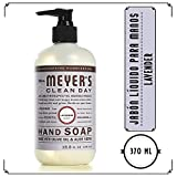 Mrs. Meyer's Clean Day Jabón líquido para manos, Lavender, 370ml