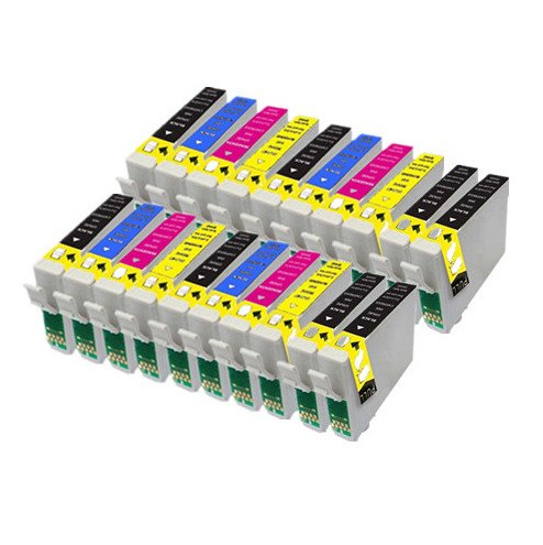 20 Kompatible Tintenpatronen für Epson Stylus B40W BX300F BX310FN BX600FW BX610FW D120 D120 D78 D92 DX4000 WiFi DX4050 DX5000 DX5050 DX6000 DX4400DX4450 DX6050 DX7000F DX7400 DX7450 DX8400 DX8450 DX9400 DX9400F WiFi SX100 SX105 SX110 S20S21 SX115 SX200 SX205 SX210 SX215 SX218 SX400 SX405 SX410 SX415 SX510W SX515W SX600FW SX610FW Drucker