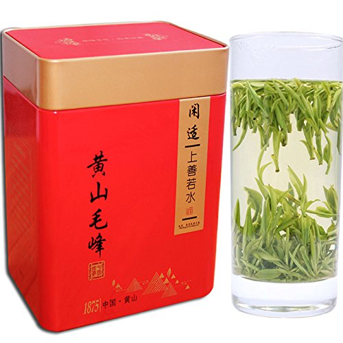 Aseus We set 2017 new Green Tea fragrant tea (tribute) Mingqian Mount Huangshan Mao Feng fragrance 500g canned shipping by Aseus-Ltd