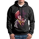 Man Boy Anime Saitama Genos The One Punch-Man Hooded Pullover