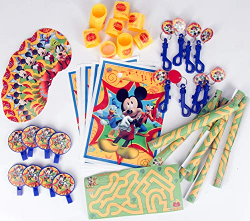 Mickey Mouse 48 piece Party Favor Pack]()