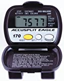 ACCUSPLIT AE170 Pedometer with Steps, Distance, and Calories Burned