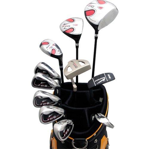 ワールドイーグル F-01α メンズ ゴルフ クラブ フルセット CBX7 バッグver.【右用】フレックスR WE-J-F-01-MRH-CBX7-R   R B00JZEQL7I