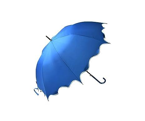 LYYUMBRELLAS ZHDC® Paraguas, Paraguas Largo Paraguas automático Lluvia Pesada Refuerzo A Prueba de Viento