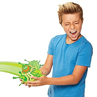 Nickelodeon Slime A.S.D. Automatic Slime Drencher, Outdoor Game, 6 Inch, Green