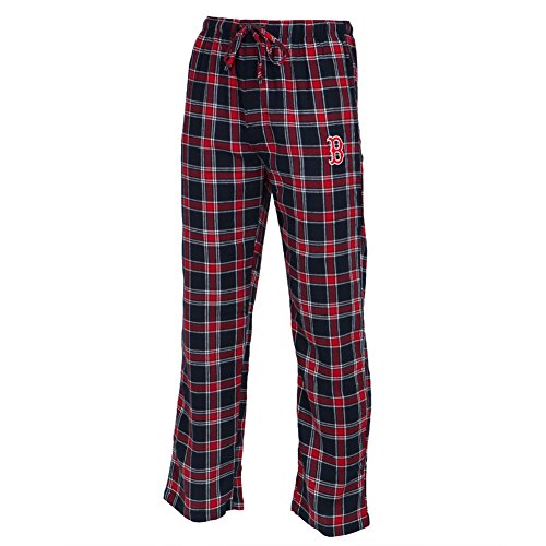 Boston Red Sox - Logo Plaid Lounge Pants - X-Large