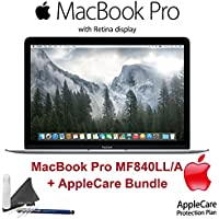 Apple MacBook Pro MF840LL/A (Certified Pre Owned) with AppleCare Bundle