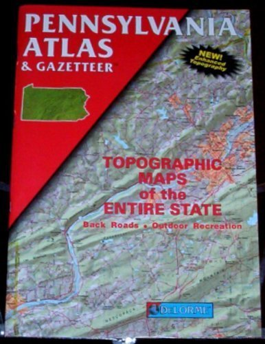 Pennsylvania Atlas and Gazetteer -