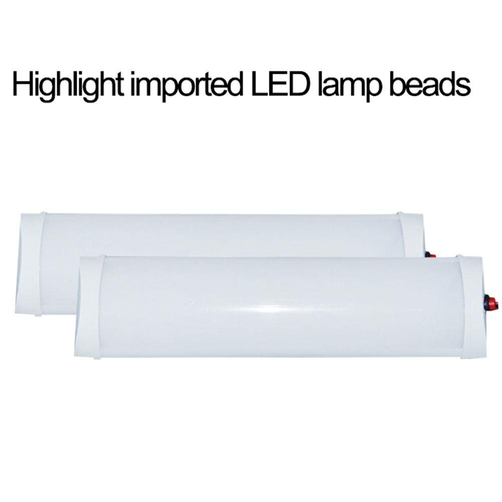 Rubyu 12 V 24 V LED Interior Lighting Interior Light LED Strip Light Reading Lamp for Car Caravan Van Truck Camper 12v