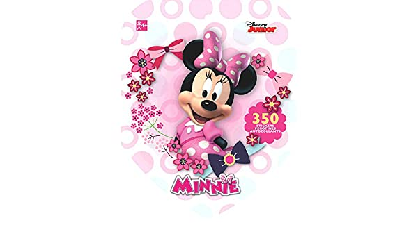 Amscan Disney Minnie Mouse Sticker Book 12 Books TradeMart Inc 150090 Party Favor