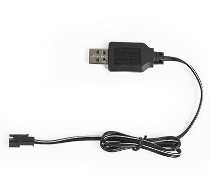 Voiture Charge 2p Câble Protection La 4 Chargeur Usb Avec Jouets 8v Sm Batteries Migoo Télécommande De 3ARS5j4Lcq