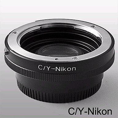 C/Y-NIKON Adapter Mount Contax Yashica C/Y Lens to Nikon SLR / DSLR with Optial Glass (CCA151) by Lenses