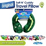Cloudz Plush Animal Travel Neck Pillow - Alligator