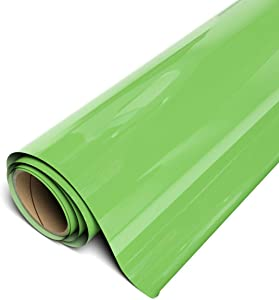 "Siser EasyWeed HTV 11.8"" x 3ft Roll - Iron on Heat Transfer Vinyl (Green Apple)"