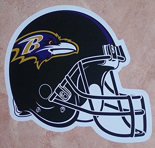 FATHEAD Baltimore Ravens Graphic Team Helmet Logo Official NFL Vinyl Wall Graphic 13