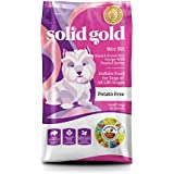 Solid Gold Wee Bit Holistic Dry Dog Food, Bison & Brown Rice with Pearled Barley, Active Dogs of All Life Stages, Small, 12lb Bag