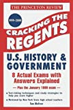 Cracking the Regents, Princeton Review Staff, 0375752765