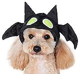 Dogo ''Bat Hat /w Glow in the Dark Eyes'' For Cat Dog Puppy Pet (S)