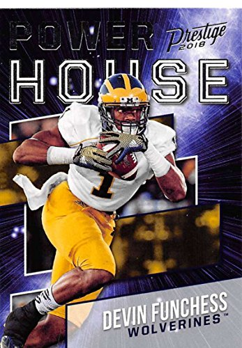 Amazon.com  2018 Prestige NFL Power House  PH-DF Devin Funchess Michigan  Wolverines Panini Football Card  Collectibles   Fine Art ee963ecc9